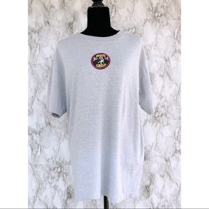 UPCYCLED// Moon Child Patched T-Shirt